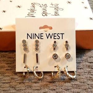 Nine West Earring Set